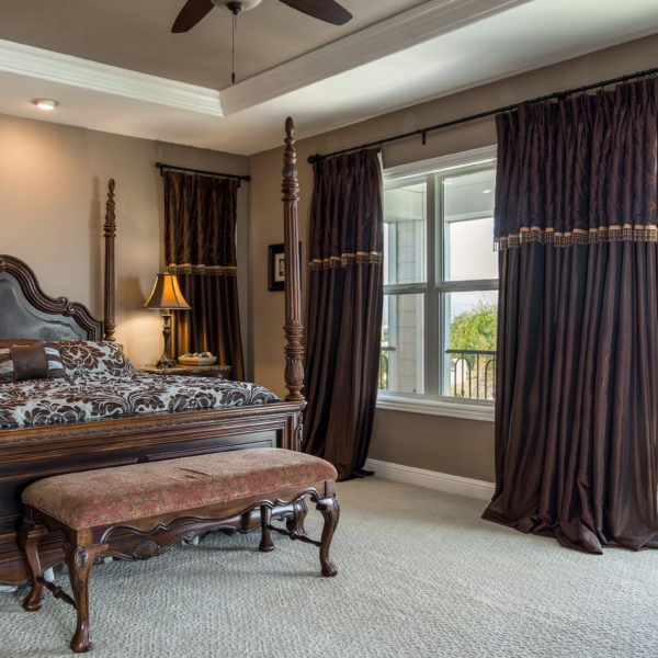 Yorba Linda California Tuscan Bedroom