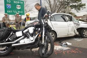 bike wreck