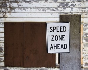 """speed zone"" pic"