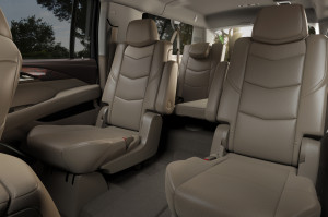 '15 Escalade back seats