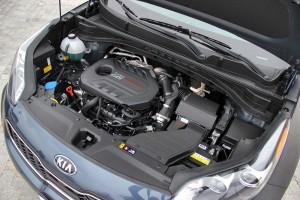 '17 Sportage SX engine