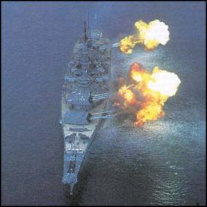 battleship-firing