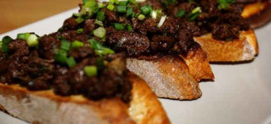 tartine foie