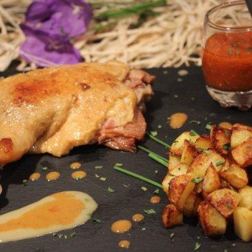 Les cuisses de canard confites, un mets de luxe incontournable, très facile à cuisiner !