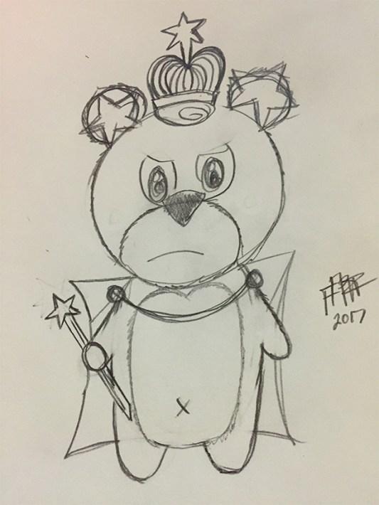 king-teddy-sketch