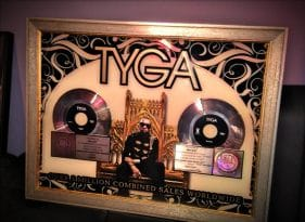 Tyga Featuring Lil' Wayne goes Platinum… AGAIN!