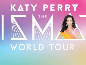 On tour with Katy Perry