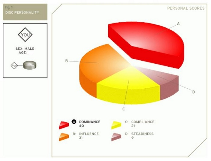 DISC Personality Scores