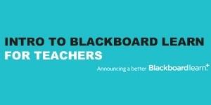 Intro to Blackboard Learn for Teachers