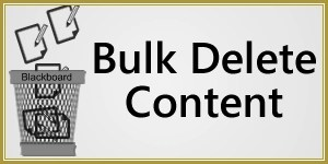 Bulk Delete Content