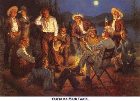 No Mark Twain