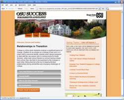 OSU Success for Parents and Family