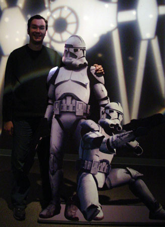 Eric Stoller with Clone Troopers