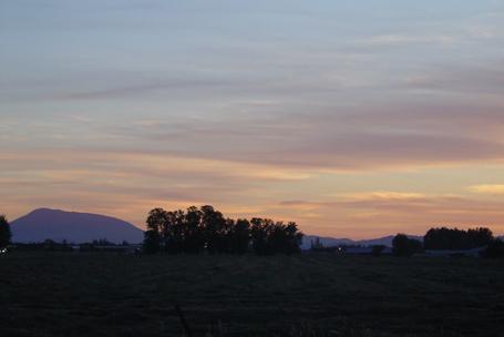 corvallis oregon sunset