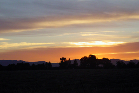 corvallis oregon sunset