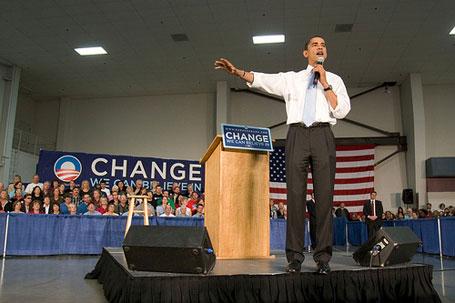 Barack Obama in Oregon