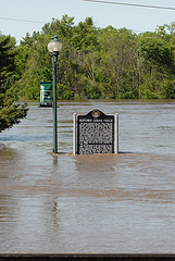 flooding in Cedar Falls Iowa