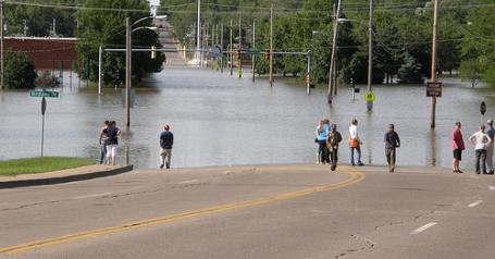 Iowa Floods of 2008 - Birdland Area