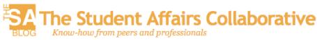 Student Affairs Collaborative Blog