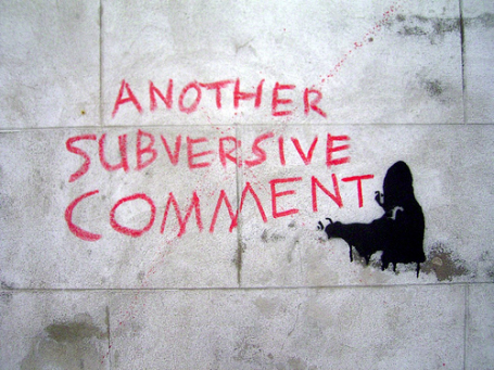 Clay Shirky needs to drop the status quo and subvert the dominant paradigm