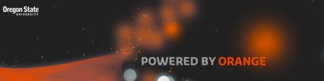 I am Powered by Orange - Go Beavs