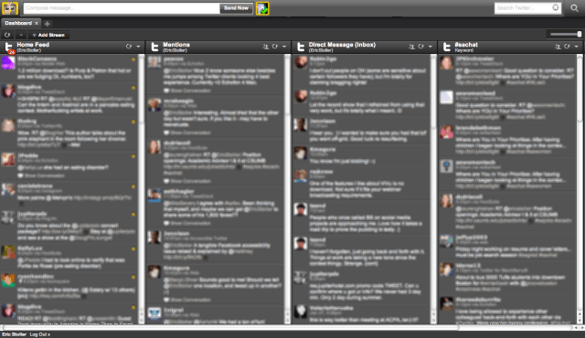 HootSuite on Chrome