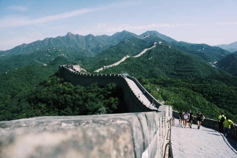 Great Wall perspective
