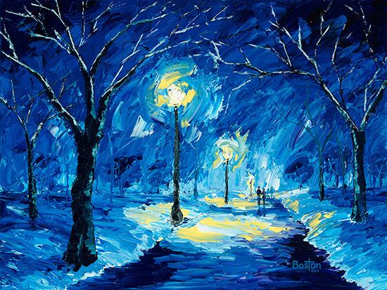 Paintings By Eric Boston Original Oil Paintings By