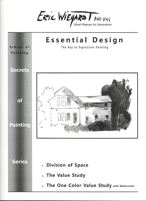 Essential Design Workbook: The Key to Expressive Painting by Eric Wiegardt AWS-DF, NWS