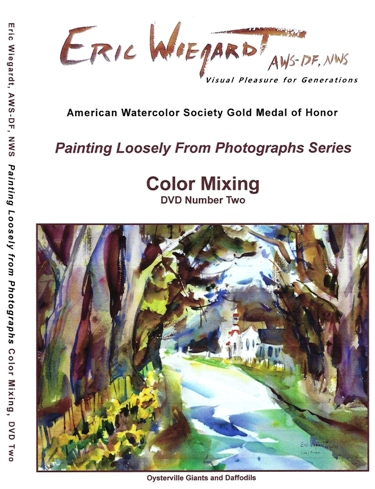 Color Mixing DVD by Eric Wiegardt AWS-DF, NWS