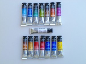 Signature Maestro Full Watercolor Paints, Set of 15