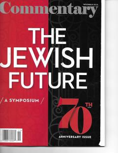 What will be the Condition of the Jewish Community 50 Years From Now?