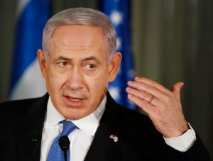 Netanyahu: It's Time to GO