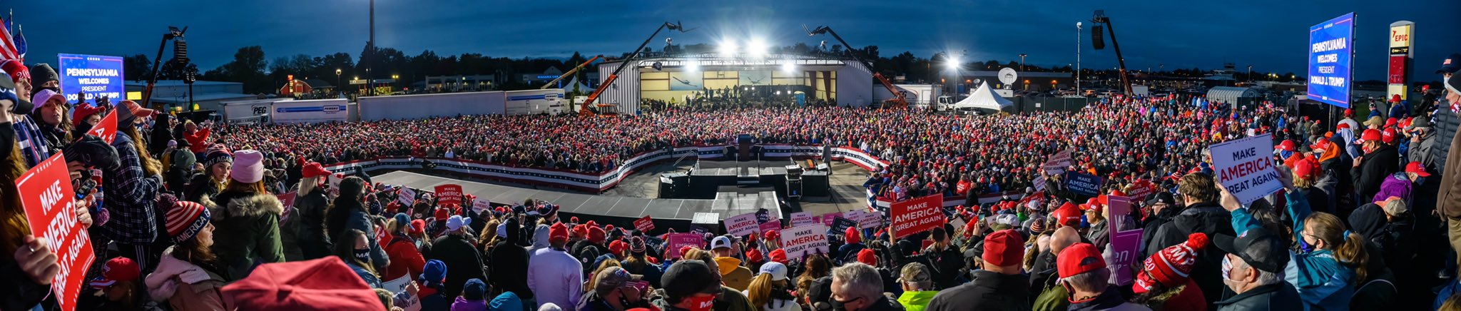 A Photo Local Erie Media Don't Want You To See – Erie County is Trump Country