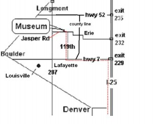 Wise Homestead Museum Map