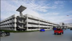 Houston Hobby Airport Parking Garage