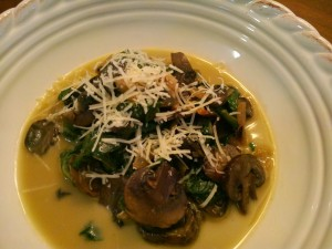Portobello Spinach