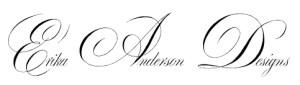 Erika Anderson Designs logo black