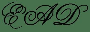 Erika Anderson Designs logo alt black