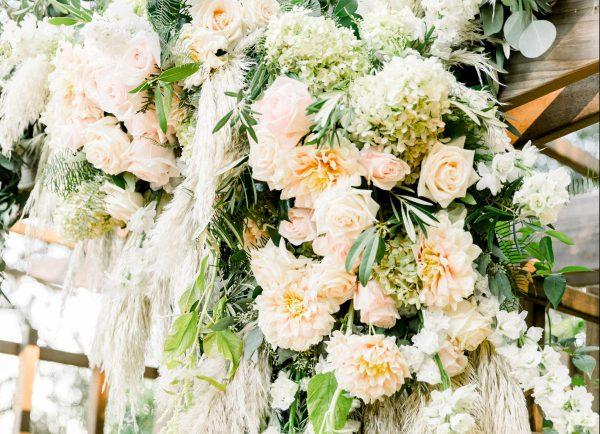 Erika Anderson Designs wedding installation