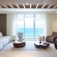 Hotel With Living Room Modern Showcase Designs 1 Homes South Beach Vogue Brasil Erika Brechtel Sobe Miami High Rise Design By Debora Aguiar Natural Refined Neutral Ocean