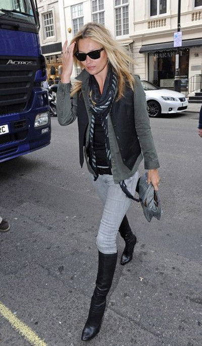 Fashion Moss Boots Kate And Jeans