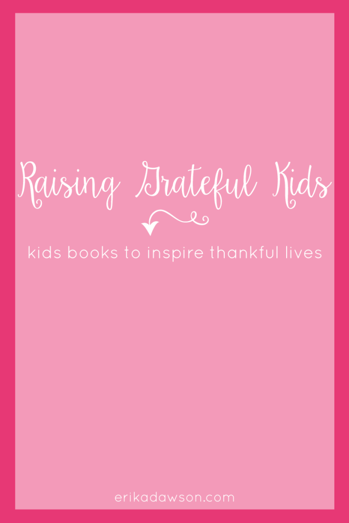 Great Kids books to teach them gratitude