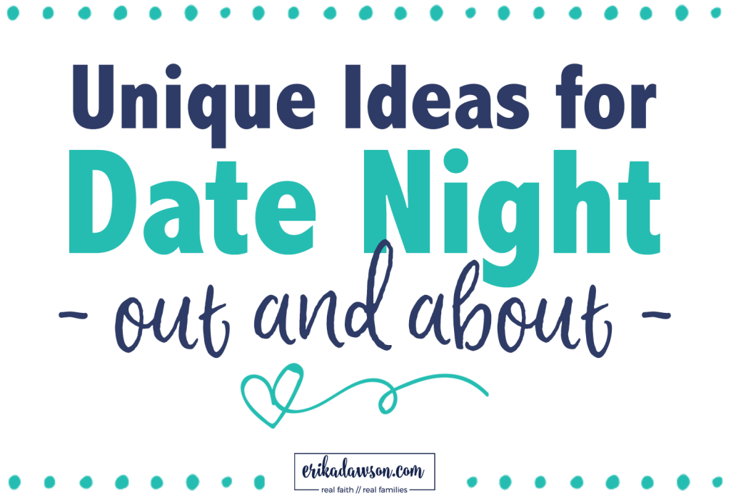 creative date night ideas for couples to go out
