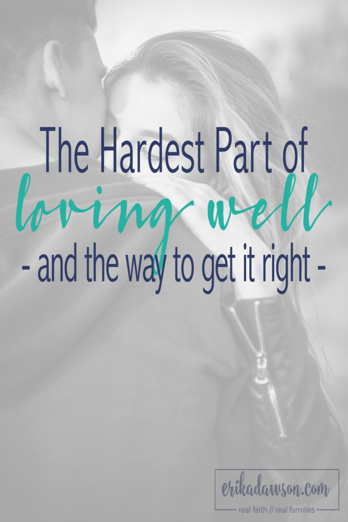 The hardest part of loving my husband well (thoughts on 1 Corinthians 13:5)