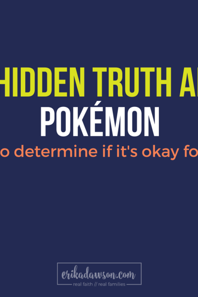 Is Pokemon Safe for Christian Kids?
