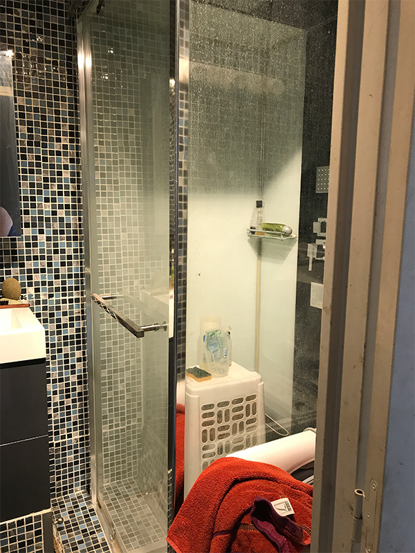 Salle d\'eau- AVANT- Erika Design