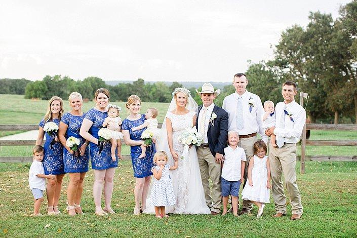 Mattie and Luke | Classy Country Wedding | Arkansas Wedding Photographer_0039