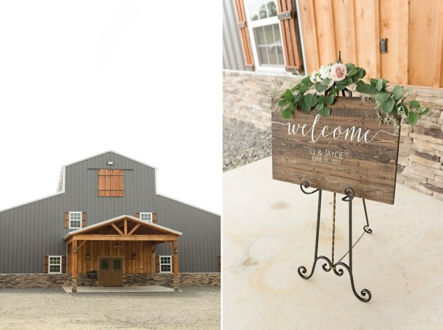 Jaycie and CJ's Wedding at The Barn at Pine Mountain in Quitman Arkansas || by Erika Dotson Photography_0025