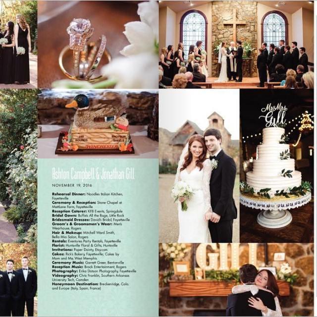 Did you guys see this?!?!? Ashton and Johnathans wedding ishellip